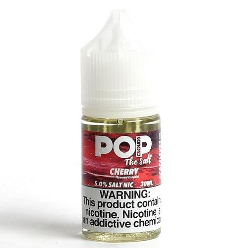 Líquido Pop Clouds Salt - Cherry