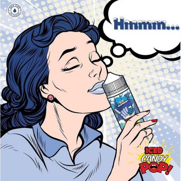 Líquido POP! Vapors - Candy - Iced Blue Raspberry