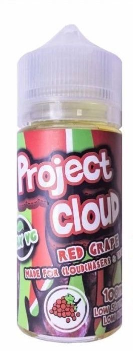 Líquido Project Cloud | Red Grape - Naked Nation