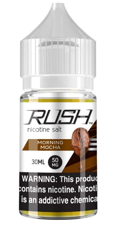 Líquido Rush Salt - Morning Mocha