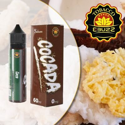 Líquido Sahara - Cocada - Coco
