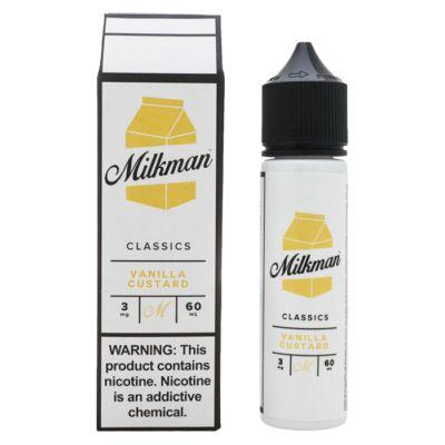 Líquido The Milkman - Classics - Vanilla Custard