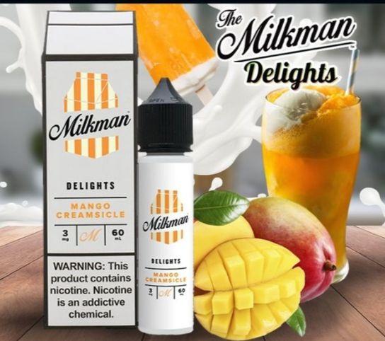 Líquido The Milkman - Delights - Mango Creamsicle