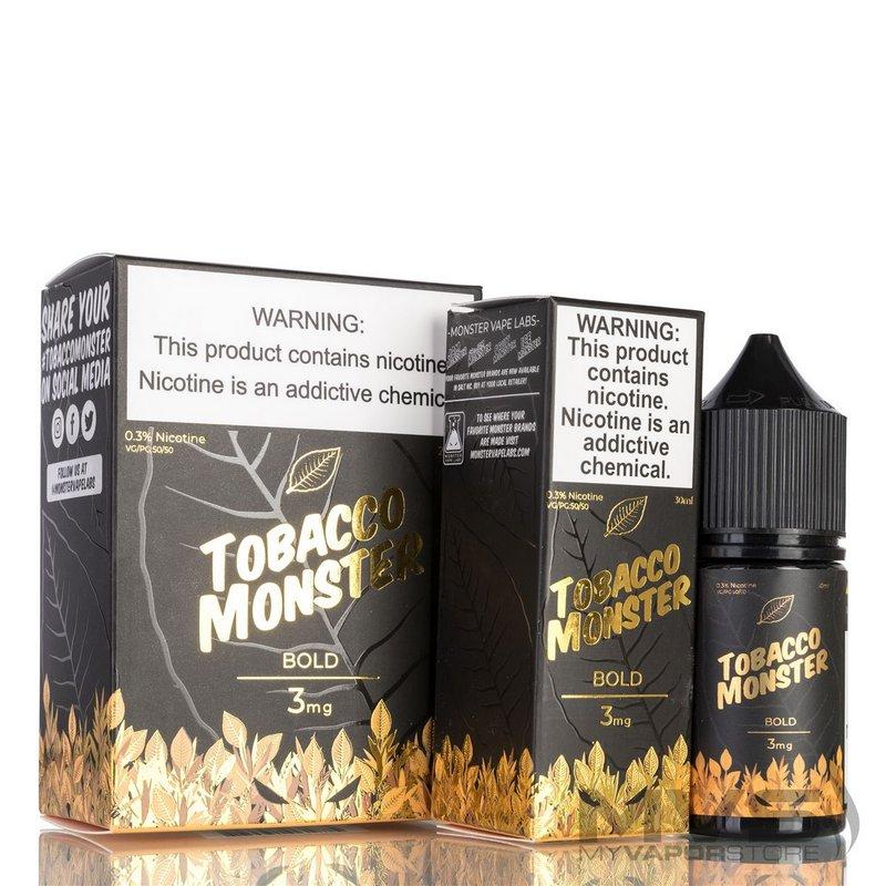 Líquido Tobacco Monster - Bold