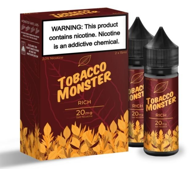 Líquido Tobacco Monster - Rich
