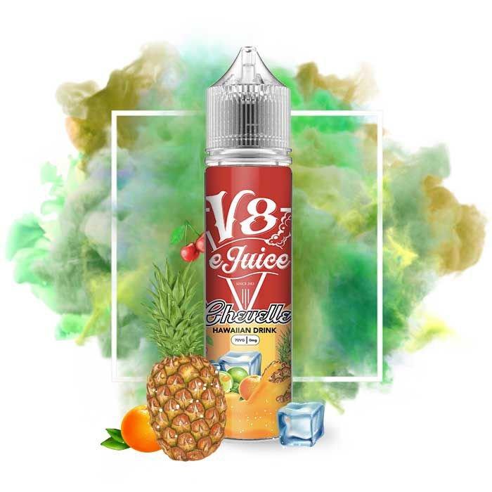 Líquido V8 E-Juice - Hawaiian Drink - Chevelle