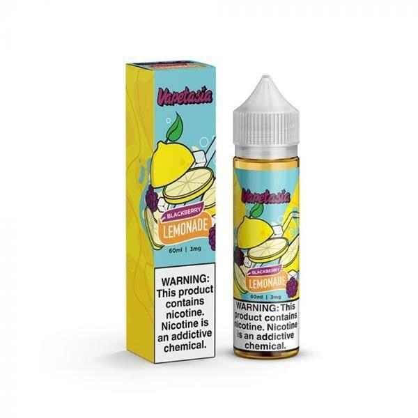 Líquido Vapetasia - Lemonade Blackberry