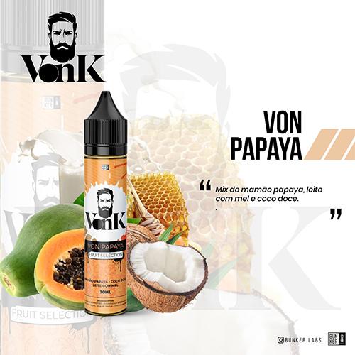 Líquido VonK - Von Papaya