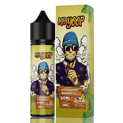 Líquido Yoop Vapor - Mr. Yoop - Strawberry Banana Ice