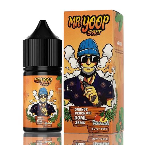 Líquido Yoop Vapor Salt - Mr. Yoop - Orange Peach Ice