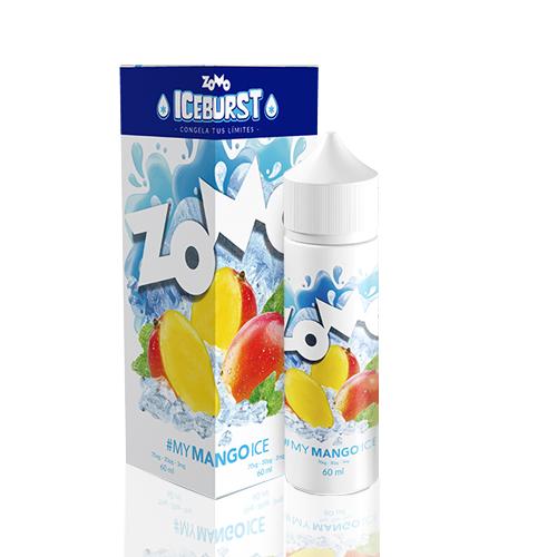 Líquido Zomo - Iceburst - My Mango Ice