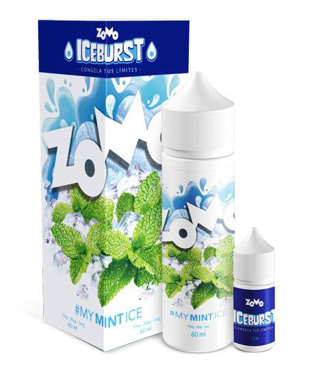 Líquido Zomo - Iceburst - My Mint Ice