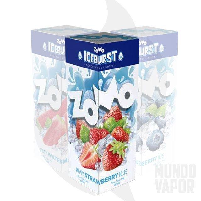 Líquido Zomo - Iceburst - My Strawberry Ice