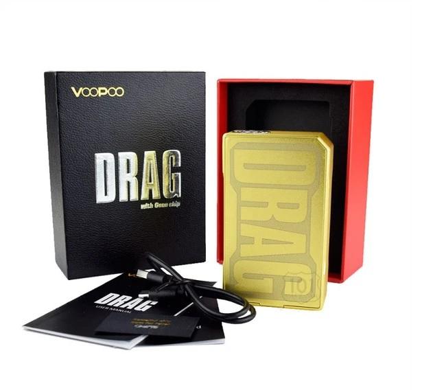MOD Drag 157w Gold - Voopoo