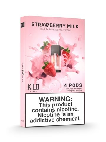POD Descartável - 300 Puffs - Strawberry Milk - Kilo