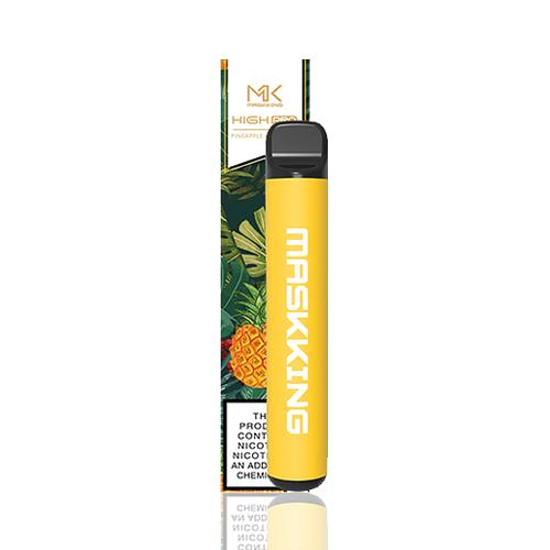 Pod descartável Maskking High Pro - 1000 Puffs - Pineapple Lemonade