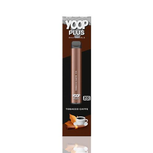 Pod Descartável  Yoop Plus - 800 Puffs - Tobacco Caffe