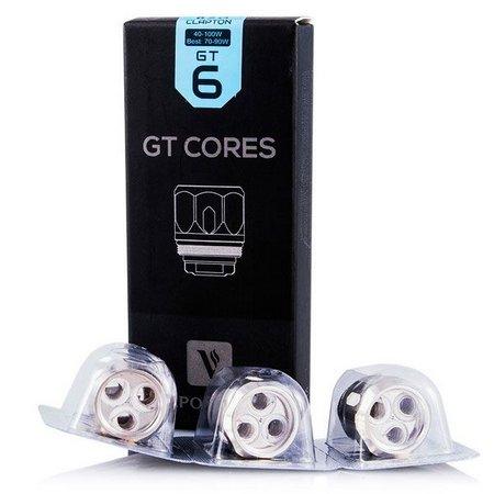 Resistência / Coil GT Cores para Tanque NRG / NRG-S / NRG-PE - GT6 - Vaporesso