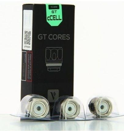 Resistência / Coil GT Cores para Tanque NRG / NRG-S / NRG-PE - GT Ccell - Vaporesso