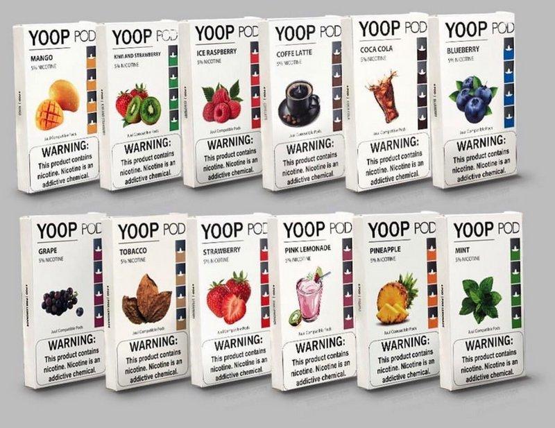 Yoop Pods Banana Tobacco - Compatíveis com Juul - Yoop Vapor