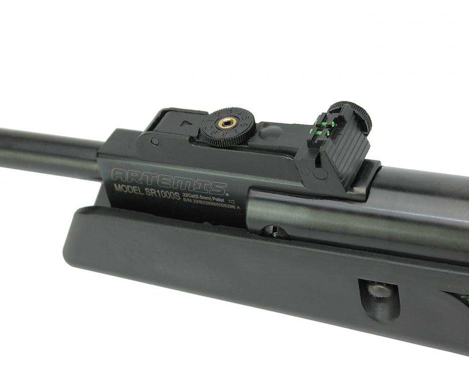 Carabina Black Hawk Polimero 5,5mm Gas ram 70kg