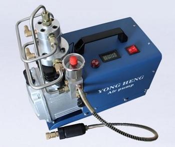 Compressor para PCP e Cilindros de Scuba 110V Auto-Stop ajustável até 4500PSI 300Bar 30MPA