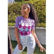 blusa dália cor predominante: lilás