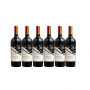 Kit Courmayeur Vinho Essencial Alicante Bouschet 750ml