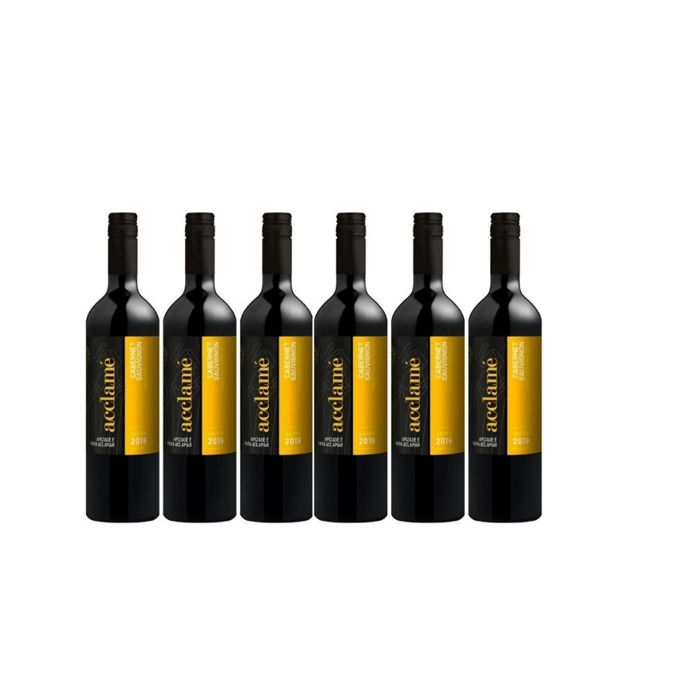 Kit Vinho Acclame Cabernet Sauvignon 750ml