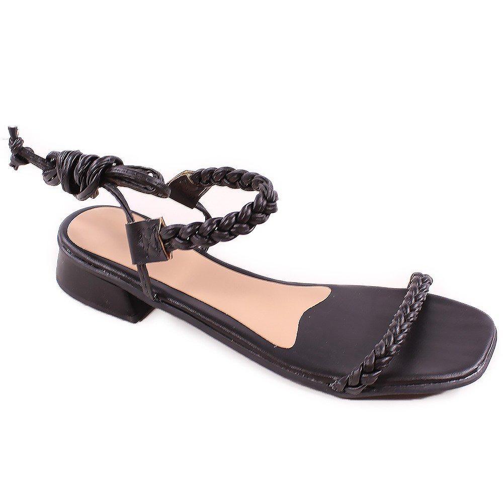 Sandália de Amarrar Básica