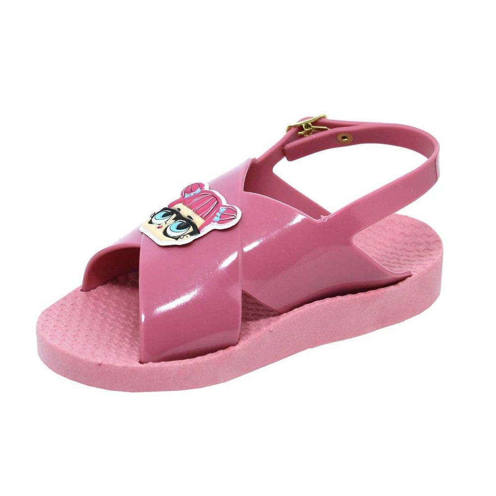 Sandália Flat Infantil Boneca Vitrinis