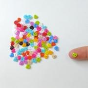 Kit Mini Botão 6mm 100 unidades