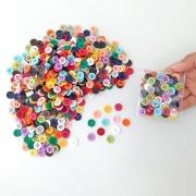 Kit Pacote Botões 11mm 100 unidades