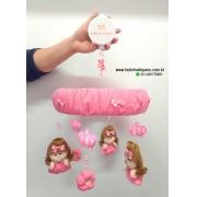 Móbile de Berço Boneca Princesa