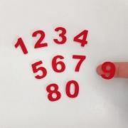 Número para Calendário 2cm