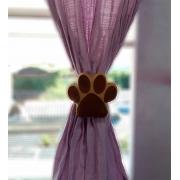 Par prendedores de cortina Patinha Cachorro