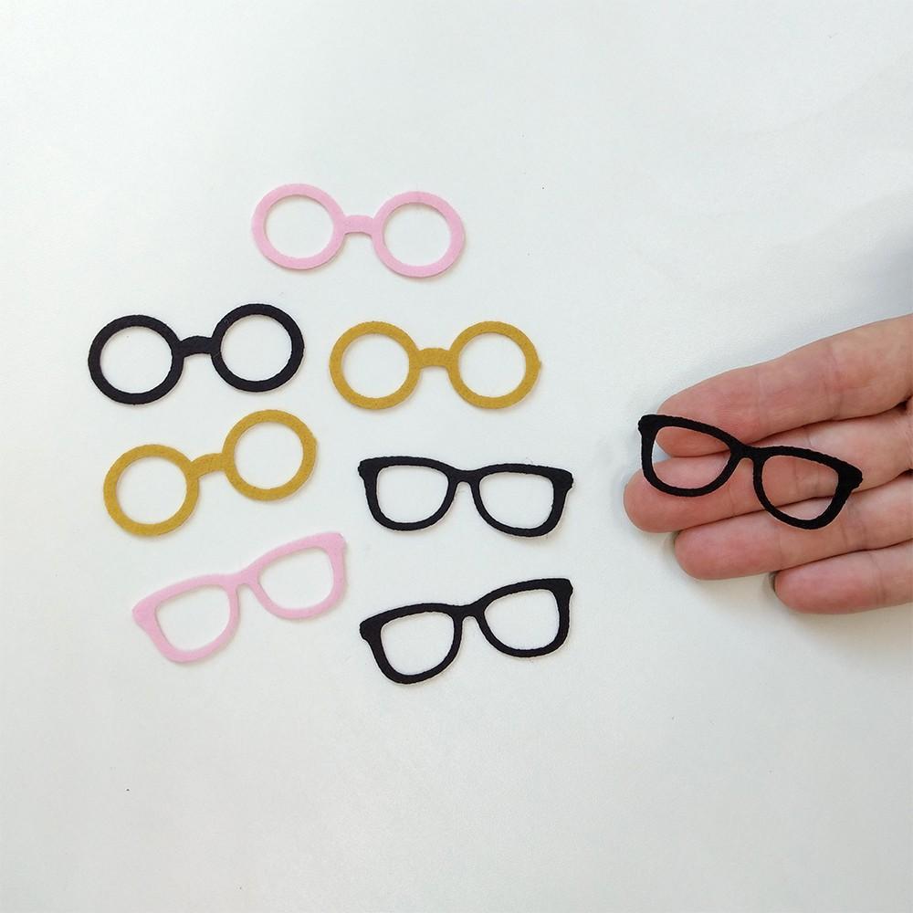 CARTELINHA Óculos para Bonecos Grande 6cm