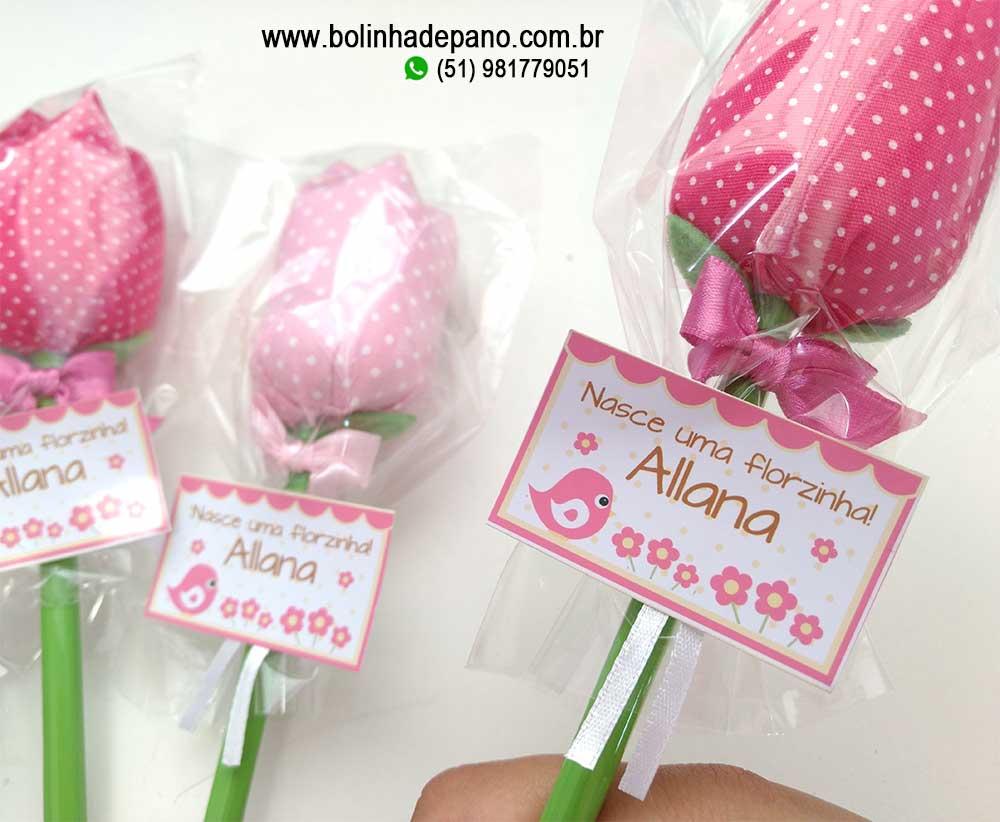 Lápis Tulipa Rosa