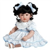 Boneca Adora Baby Doll 20� Little Lady in Blue (Black Hair/Brown Eyes)