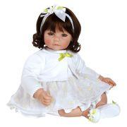 Boneca Adora Baby Doll 20� White Daisies (Dark Brown Hair/Blue Eyes) - Frete Gr�tis