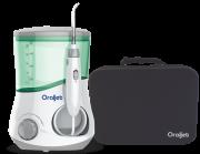 Oraljet Família com Estojo de Viagem Irrigador Oral  Ultra Water Flosser OJ1200B Bivolt Automático