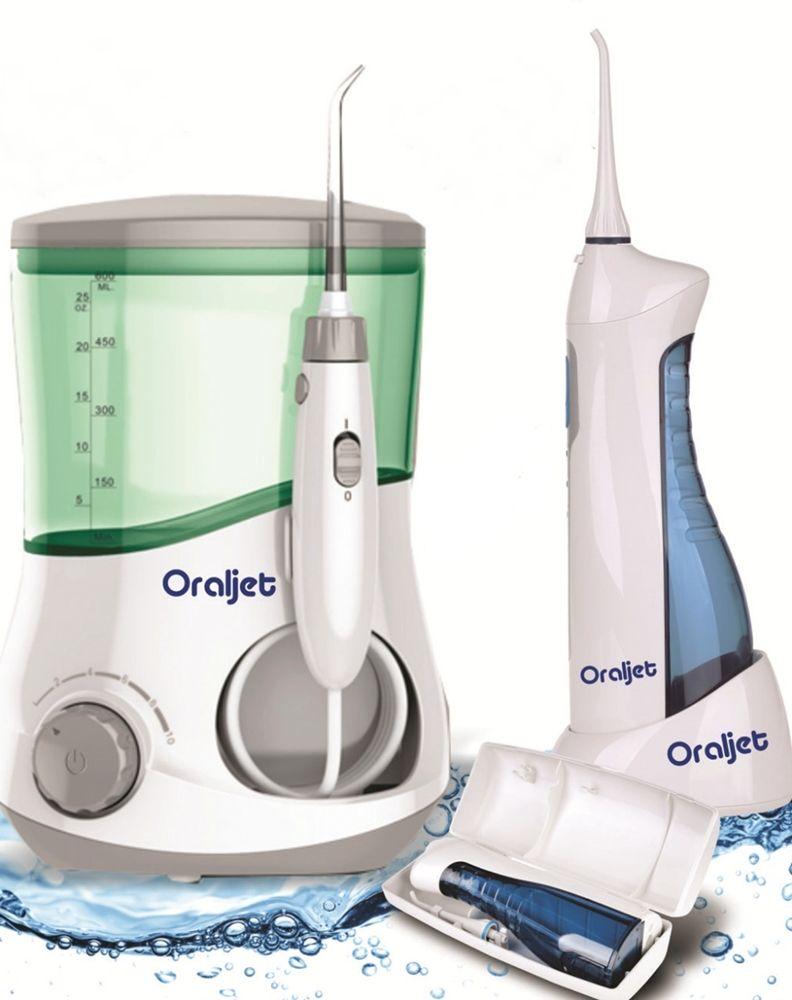 Irrigador Oral Oraljet Ultra Water Flosser Combo OJ1200B e OJ750B BIVOLT