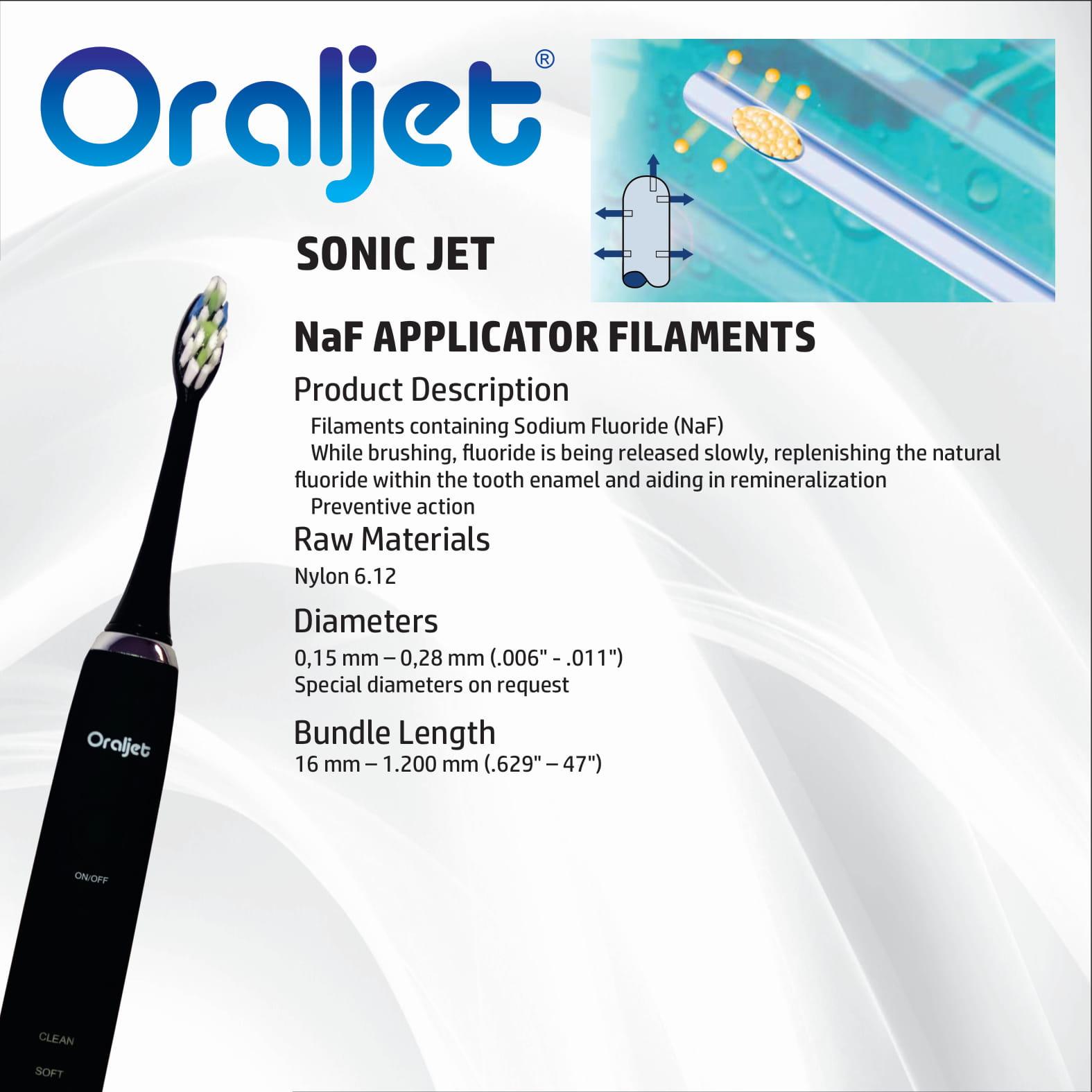 Oraljet Escova Dental Elétrica Ultrassônica SonicJet  4 Profissional Alta Performance Ultra Família