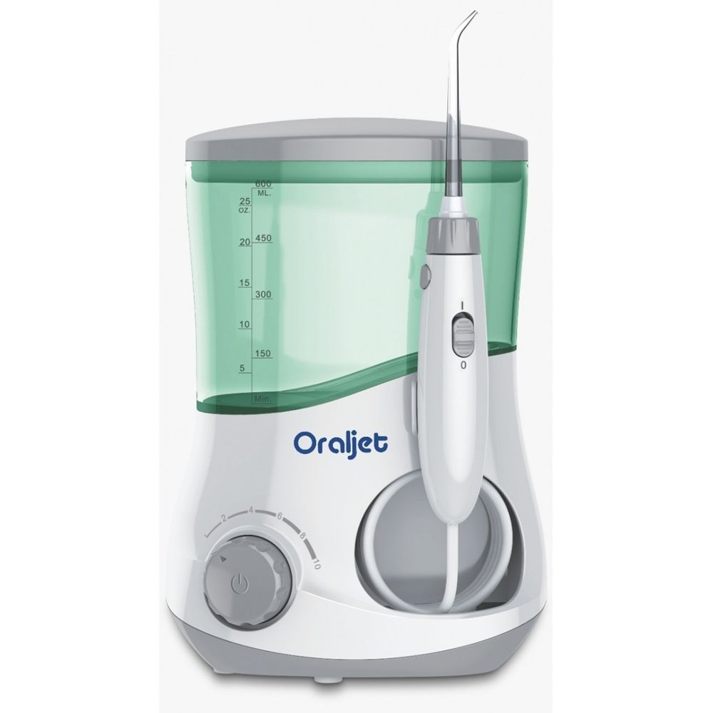 Irrigador Oral Oraljet Familia Ultra Water Flosser OJ1200B Bivolt (100-240 Volts)