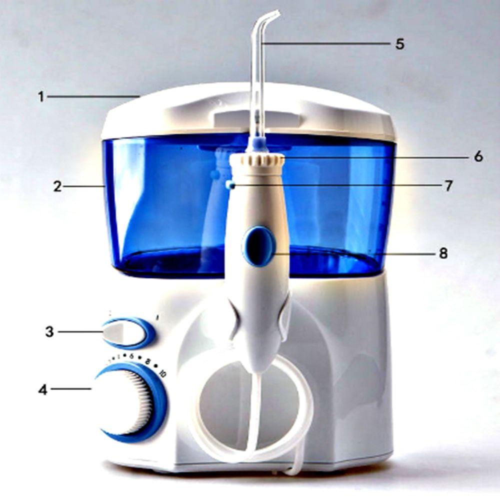 Fio Dental Eletrônico - Irrigador Oral Oraljet Ultra Familia OJ-1000B  110 Volts