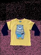 Camiseta em meia malha