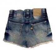 Shorts fem c/ elastano do 1 ao 3