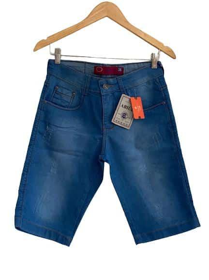 Bermuda masculina jeans clara