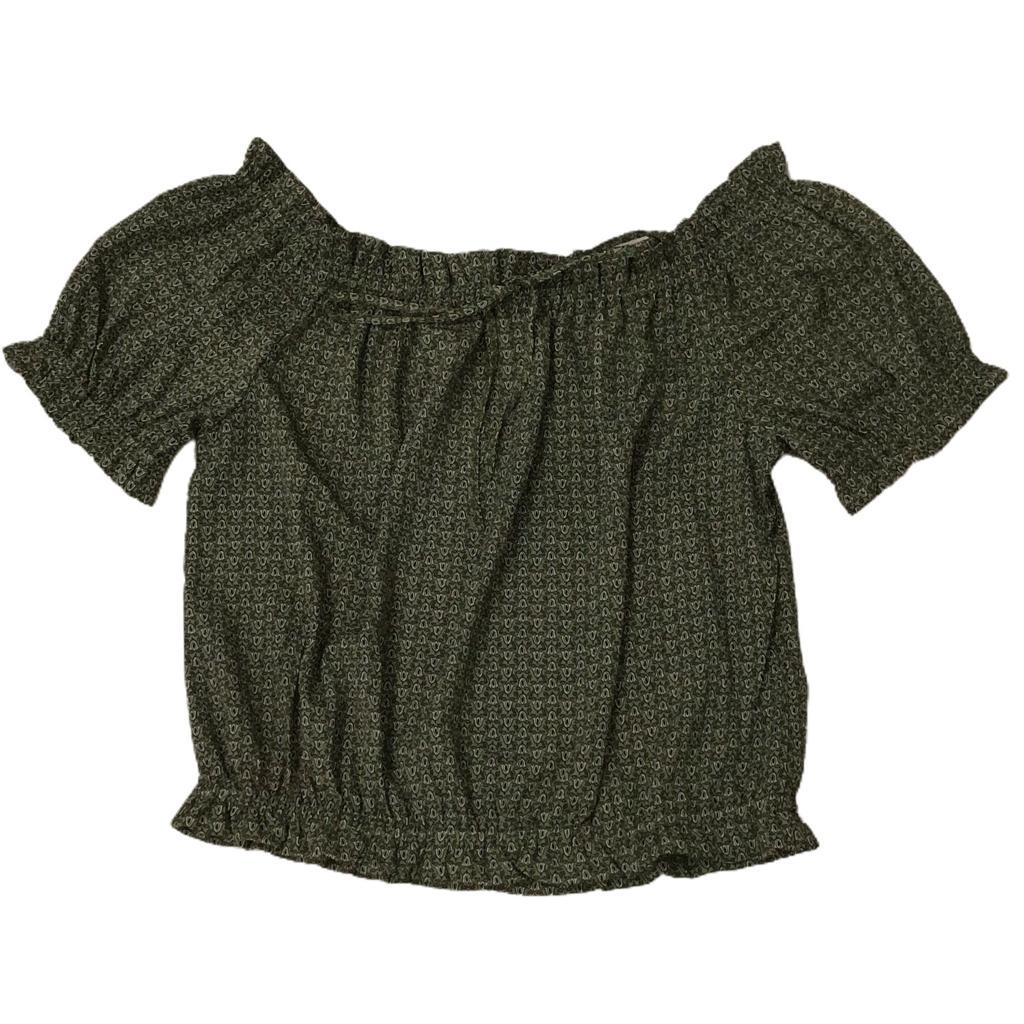 Blusa ciganinha light cordnroy com tirinha