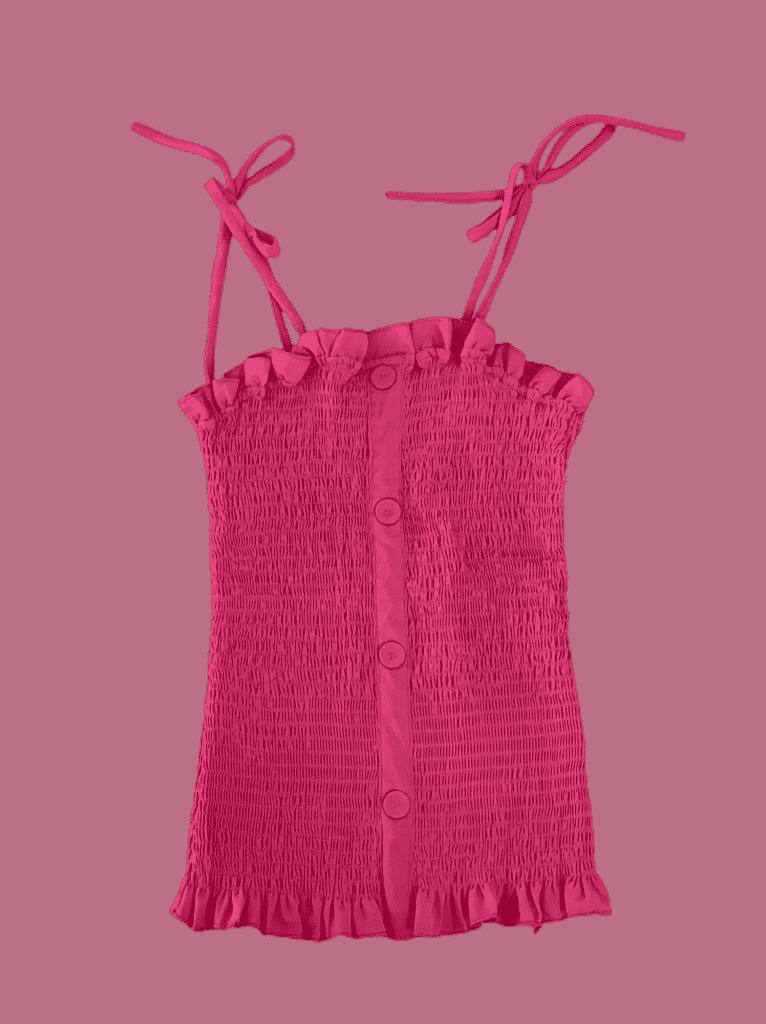 Blusa lastex tecido alcinha